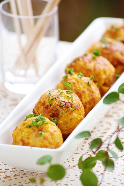 『たこ焼き器で可愛いスパニッシュオムレツ』お弁当やお ...