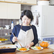 色数の少ないお料理でも引き立ててくれます~金子文恵さんのお気に入り