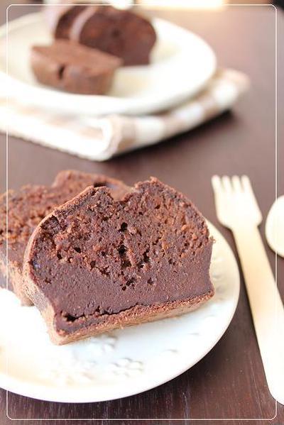 バレンタイン♪チョコレシピ♪超濃厚チョコレートケーキ