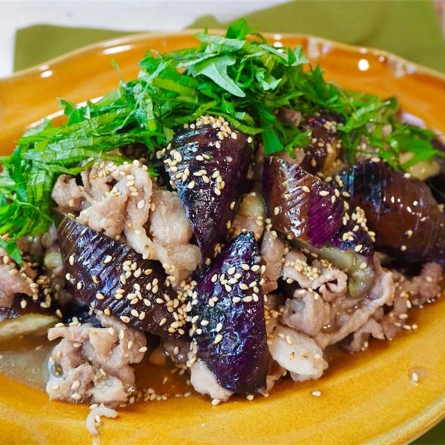 【レシピ】豚こまと茄子の甘辛みそ炒め