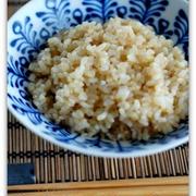 マクロビオティック!圧力鍋で炊く玄米ご飯