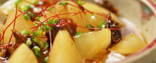 レンジ調理だけで完成!味がしみてコクうま「大根の煮物」