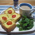 朝食に!キャラウェイ香る♪チーズトースト