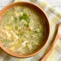 *【レシピ】香りを楽しむ♪水耕せりのかき玉スープ*
