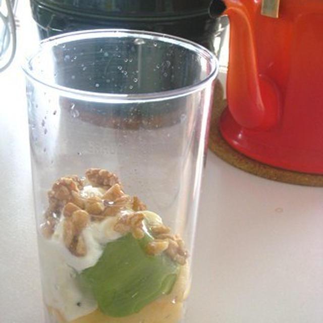 目覚めの1杯*朝のフルーツ生ジュース