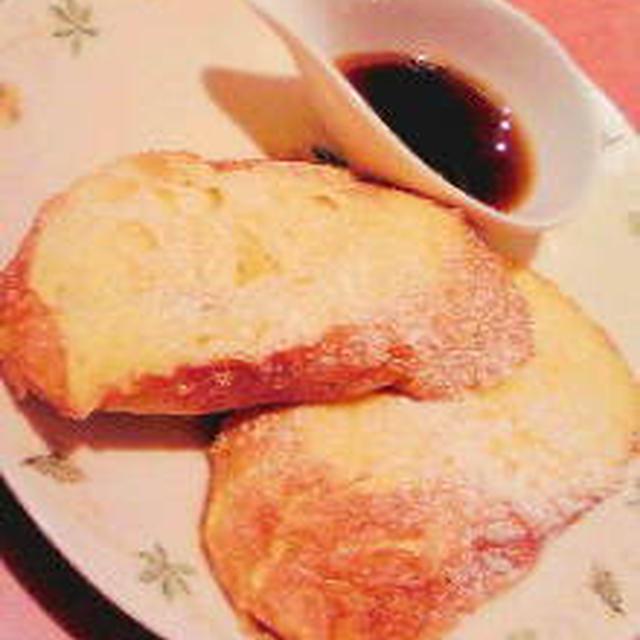 バゲットのフレンチトースト
