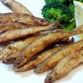 ワカサギに良く似た海水魚☆チカのピリ辛唐揚げ☆☆☆