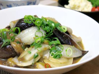 今日の晩ご飯/今が旬!生姜香る「新生姜ご飯」と、「茄子のスタミナ炒め」