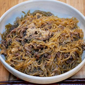 無性に食べたくて「牛肉と糸こんのすき炒め煮」&「そして私はやっぱりこんな風にして食べるのが好きです」
