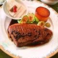 ビーフステーキの山椒てりやきソース~日本のお正月にジャパニーズスタイルソース❀