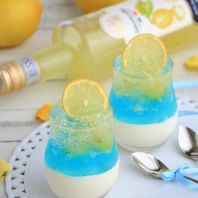 レモンカクテルのヴェリーヌ (父の日、パーティー、冷たいお菓子)