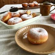 お礼(^ ^)と、家庭でも出来る!ふわふわしっとりイーストドーナツレシピ