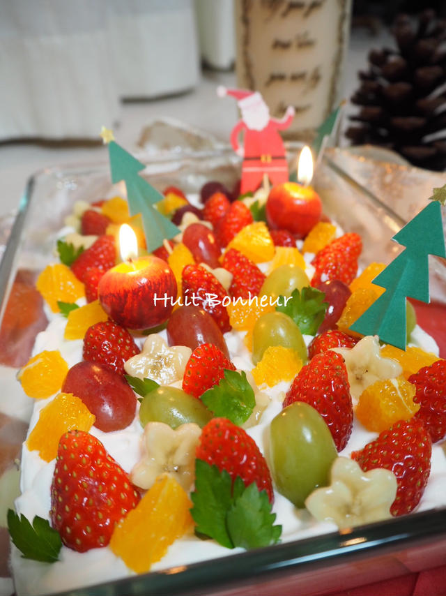 4.クリスマスをスコップケーキで!