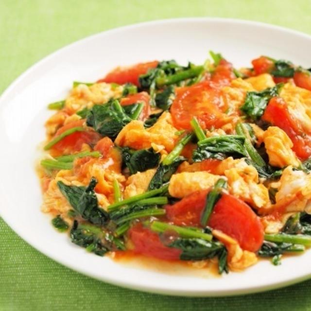 卵 人気 トマト レシピ