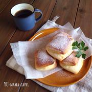 レンジ発酵、オーブン予熱要らずのクリームチーズみるくパン♡菓子パン