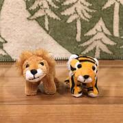 お土産は、ライオンさんとトラさん