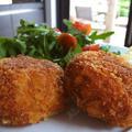フィッシュケーキ(サーモンのコロッケ)レシピ