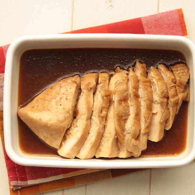 ムネ肉がしっとりやわらかくなる作り方!鶏ムネ肉のゆず胡椒ぽん酢のレシピ