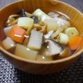 根菜のしょうが汁。