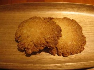 パン粉のクッキー
