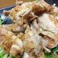 豚もも肉の王林のブランデー漬けマリネ焼き 豚肉を洗うのがポイント by 縄文弥生さん
