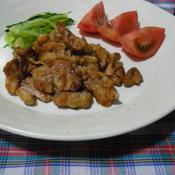 豚のシナモン焼き