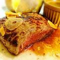 塩麹を使った柔らかガーリックステーキ by りんちゃんぱぱさん