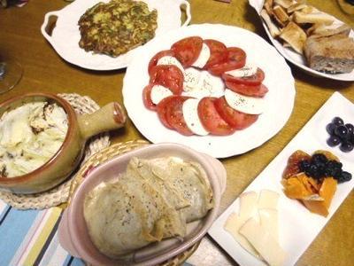そば粉入りクレープに濃厚なチーズときのこがぴったり!「北イタリア風そば粉クレープのきのことタレッジョチーズの包み焼き」