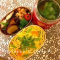 ひな祭り弁当〜ちらし寿司とはまぐりと菜の花の潮汁