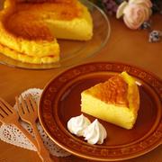 ホットケーキミックス(HM)の簡単&濃厚スフレチーズケーキ