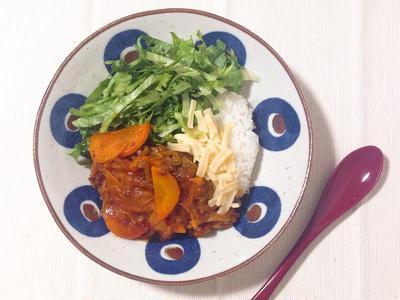【管理栄養士のお野菜レシピ】20分で完成!タコライス風のピリ辛ハンバーグ丼
