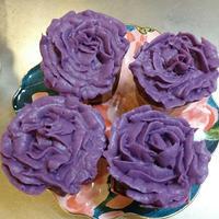 簡単・アレルギー対応紫芋クリーム