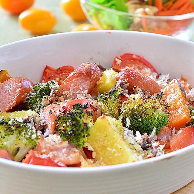 南フランスの香りの焼き温野菜♪ ☆ 「ZIP!」でトマト鍋!