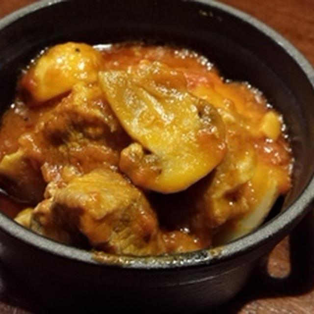 豚肉のピリ辛トマト煮