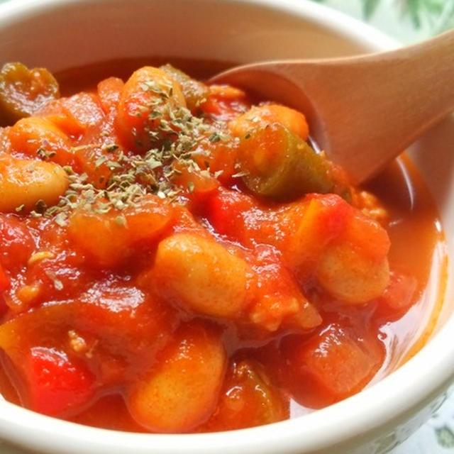 野菜の甘みたっぷり☆甘辛チリコンカン