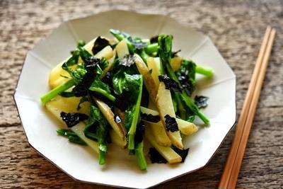 春野菜の海苔炒め:坂ノ途中×白ごはん.comの和食レシピ