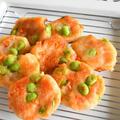 群馬県産「豆王」で枝豆のはんぺん焼き【ぐんまクッキングアンバサダー】つぶしたはんぺんに混ぜて揚げ焼きにするだけの簡単おつまみ。