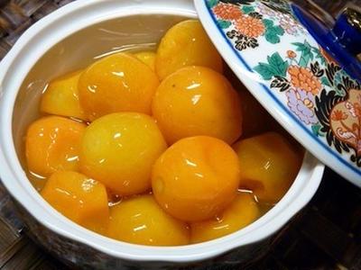 >簡単おせち☆金柑の甘露煮☆レンジで5分! by 桜貝の想い出さん