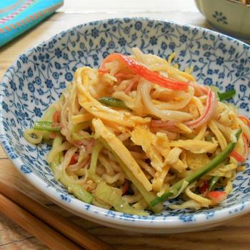 簡単!!切り干し大根の中華サラダの作り方/レシピ