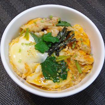 『親子丼の作り方』超定番超シンプルに♪家庭で美味しい簡単な作り方