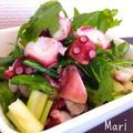 和えるだけ♪セロリと蛸のサッパリサラダ♡ by Mariさん
