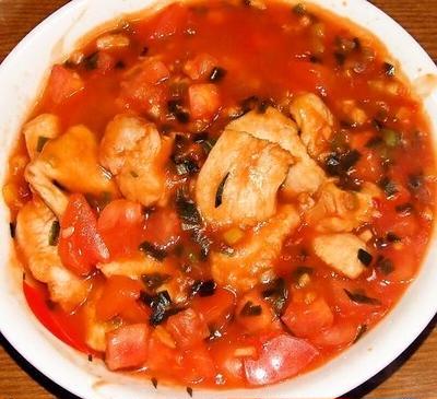 鶏胸肉のチリソース&牛肉と野菜のミックスソース炒め