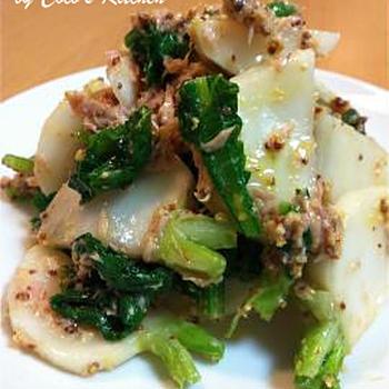 旬の野菜でヘルシーに♬美味☆春かぶのサラダ