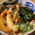 舞茸の天ぷらうどん