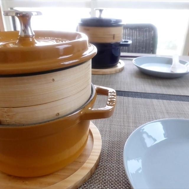 ストウブ14と蒸篭で中華シリーズ のんママさんに感謝❤