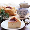 お豆腐バスクチーズケーキレシピ