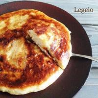 こね1分発酵30分♪フライパンで☆ぬるチーズと ジャガイモのパン