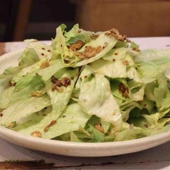 【recipe】レタスの粒マスタードサラダ/なぜ地酒が広がらないのか