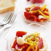 トマトとパプリカのマリネ