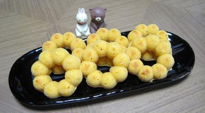 焼きポンデリングとドーナツ(卵不使用)